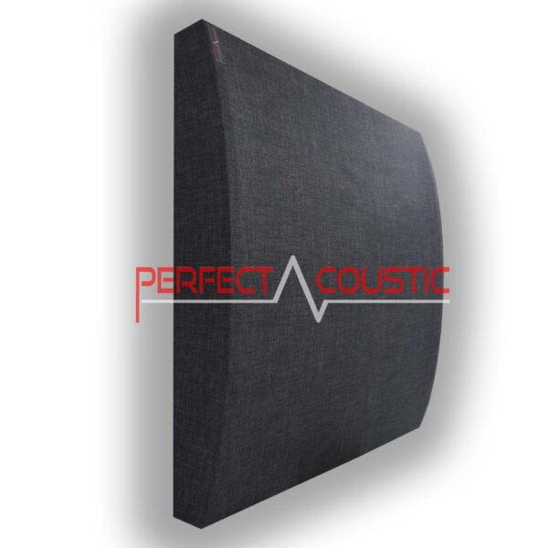 3D-panel i mörkgrå