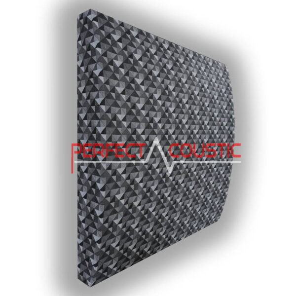 3D-panel rutig