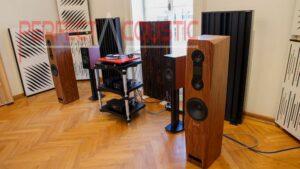 Acoustic Absorber in Barabas villa ..