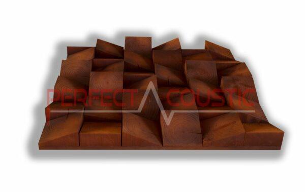Akustisk diffusor av trä (2)