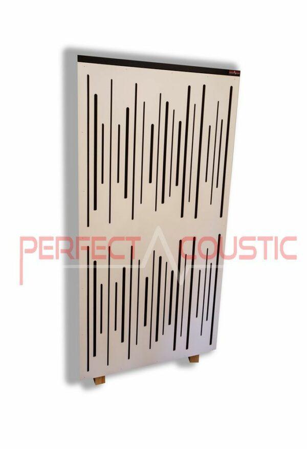 Akustisk panel med diffuserfärg