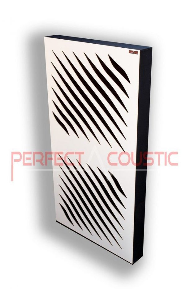 Akustisk panel med diffusor (2)