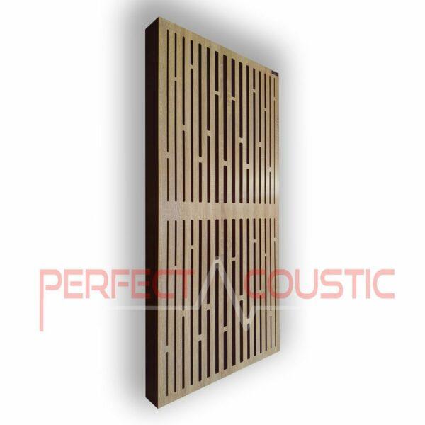 Akustisk panel med diffusormönster (3)