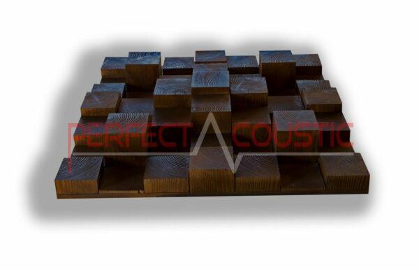 Akustiskt diffusionsmönster 3D