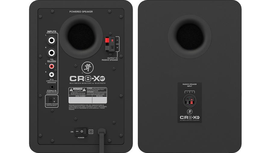 CR8-XBT bakre högtalare