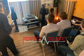 Core Audio hifi-show, presentation av akustiska paneler (2)