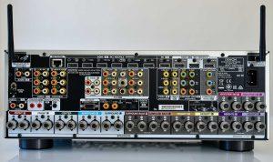 Denon X6700 in- och utgångar