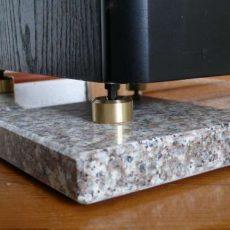 Högtalarplattor Granit- och kalkstenplattor