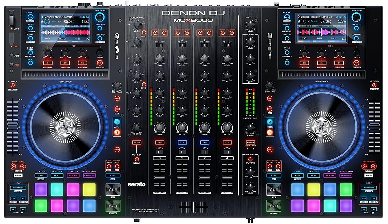 Kontrollerar Denon-Dj-McX-8000