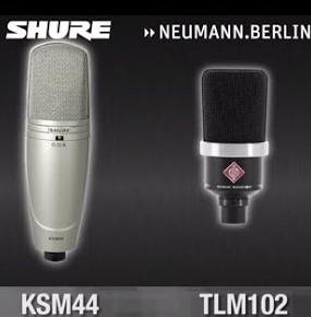 Mikrofon Shure ou Neumann