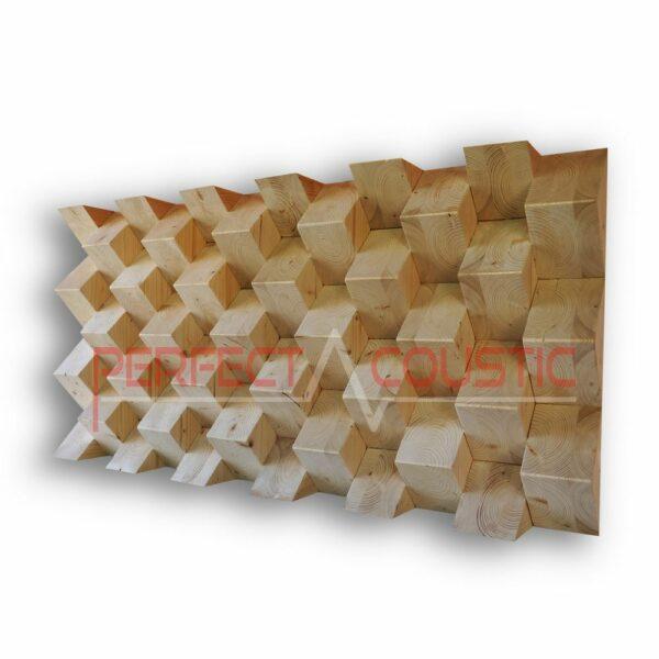 Pyramid akustisk diffusör färg (2)