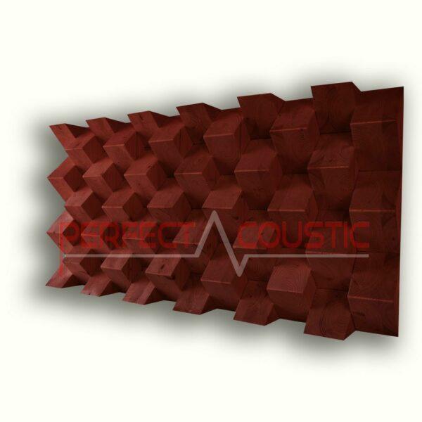 Pyramid akustisk diffusör färg (3)