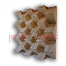 Pyramid akustisk diffusör färg (4)
