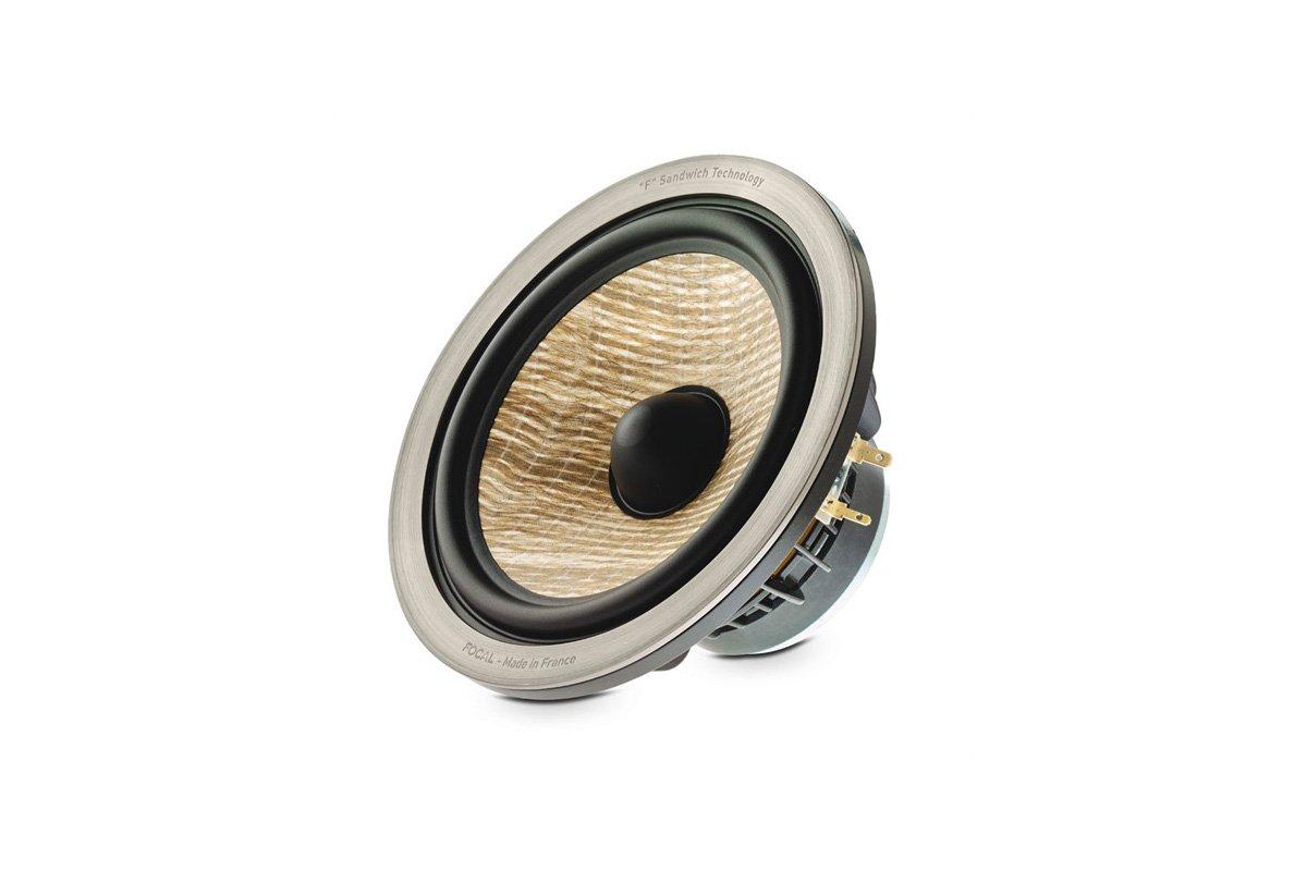 Sandwichteknik för Aria 906-högtalare