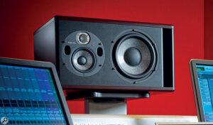 Trio11-högtalare i studion