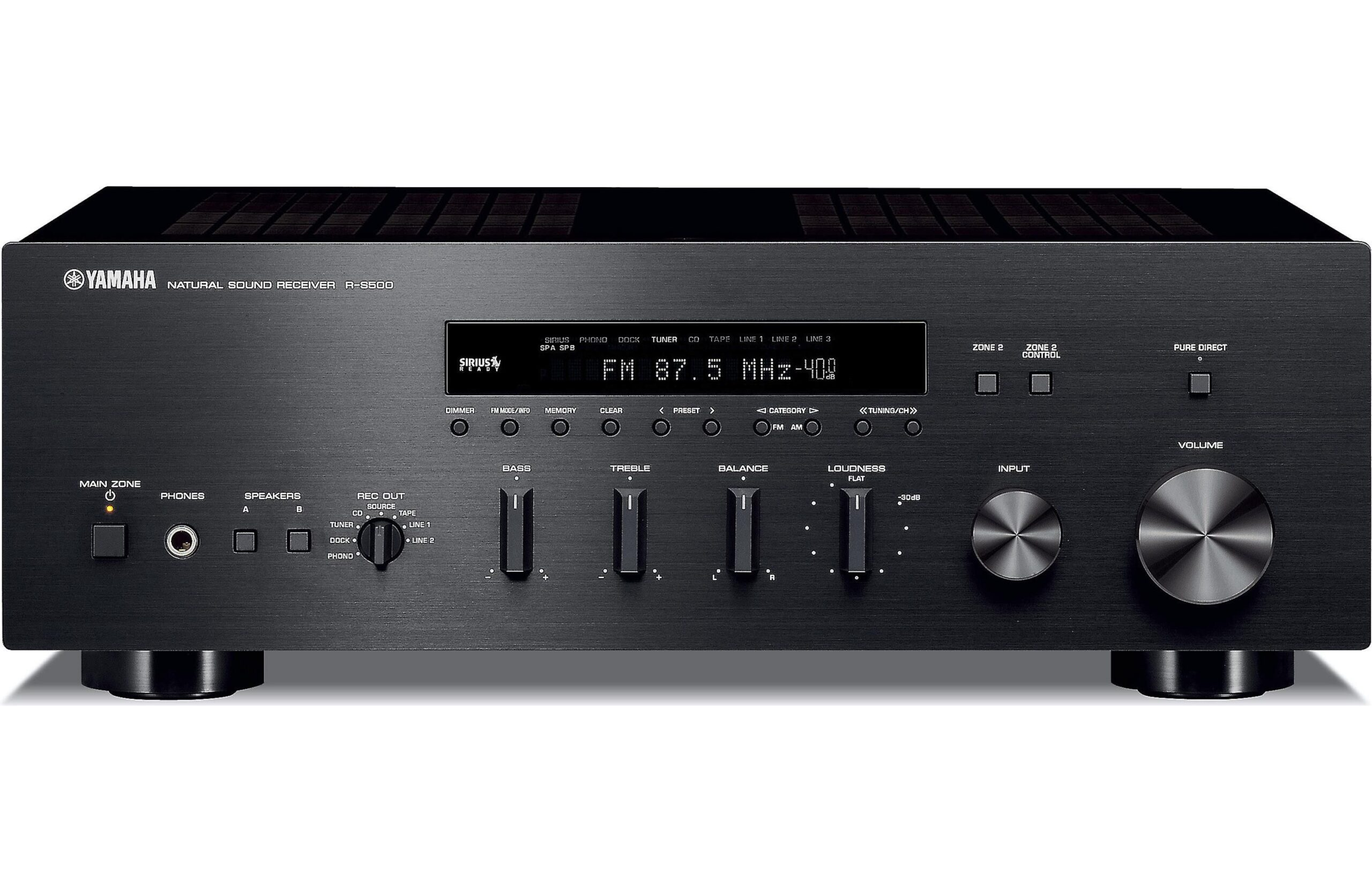 Yamaha R-S700 mottagartest