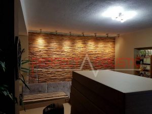 home theater acoustic design with diffuser front panel