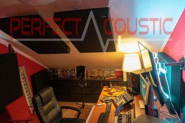 akustisk behandling i vindstudio