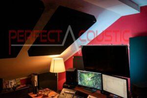 akustisk mätning av takstudio