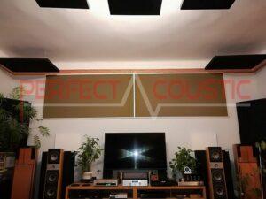 akustisk panel placerad på taket i biosalen (3)