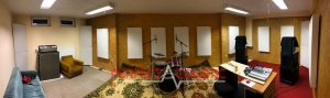 akustisk panel, placering av ljudabsorberande panel