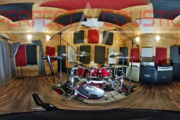 akustisk separering av trummautrustning