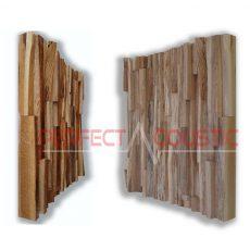 akustiskt diffusermönster av ek