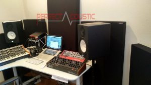 behandling efter akustisk mätning av studio