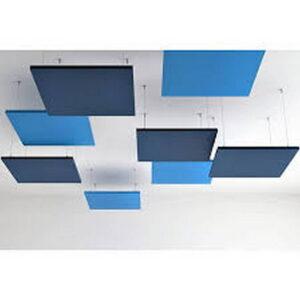 blå takpaneler