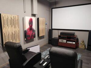 cinema room with