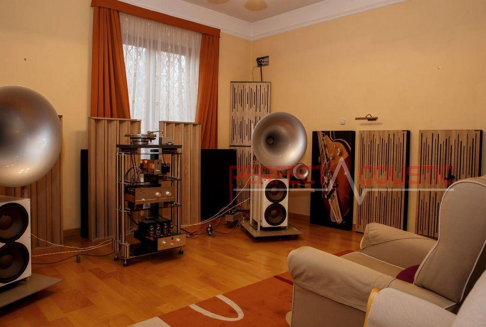 Akustiska diffusorer