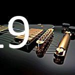 gitarrspelare med fotoakustiska element