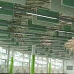 gröna takpaneler