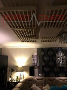 hemmabio akustisk design med diffusor frontpanel akustisk diffusor