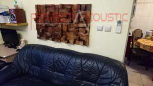 hemmabio akustisk design med rustik akustisk diffusor (2)