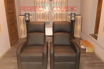 home acoustic design with diffuser front panel acoustic panels