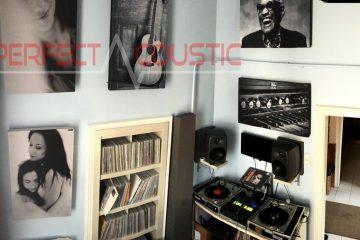 studioakustik med Perfect Acoustic