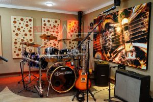 studioakustikmätning och akustisk behandling (3)